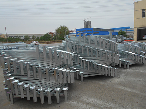 Cold storage tray galvanized